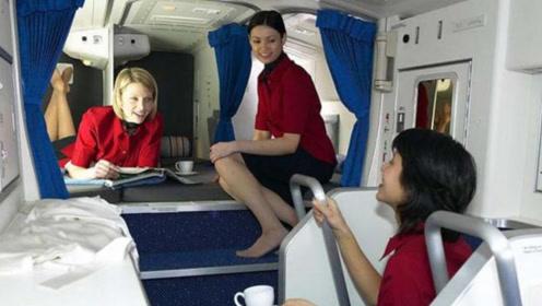 飞机最隐秘的地方,就是空乘人员休息的地方,你知道在哪吗?