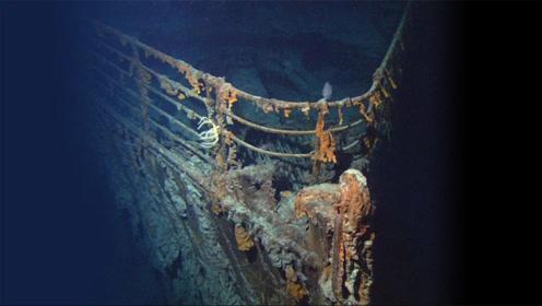 泰坦尼克号没人敢捕捞?小伙冒死下海查看,镜头记录残骸惊天秘密