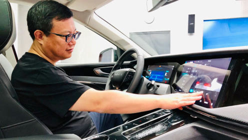 天际汽车CEO亲自上阵,绕车讲解两款天际新车