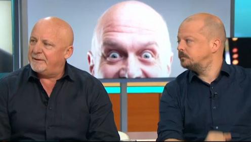 """""""英超的牛逼开场让人头发都竖起来了""""BBC名嘴指着秃头嘉宾说"""