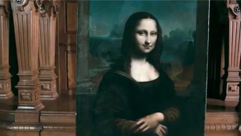 蒙娜丽莎被放大40倍,背后还有个女人,这个女人是谁?