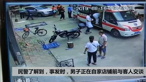 遭遇惊魂一刻:顺德一男子突被坠落窗户砸中,头部受伤流血