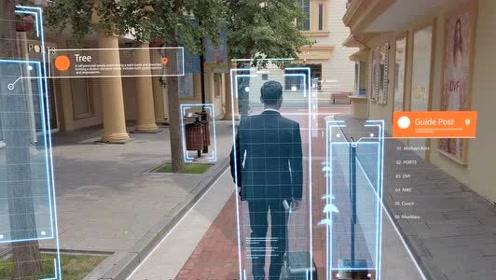 行李箱自动跟人走  看世界机器人大会上的视觉感知黑科技