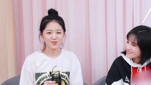 明妹专访:冯希瑶自己属于可爱风的小女生,为自己美美的尝试唱跳