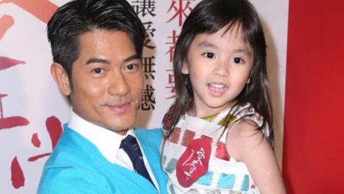 郭富城2岁女儿正脸曝光,五官像极爸妈,活泼乱跳很听外婆的话