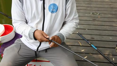 收放鱼竿的一小动作,就会造成鱼竿大损伤,老钓手都懂新手来看了