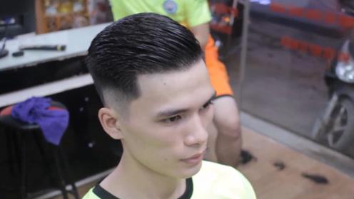 """男生剪""""油头""""发型太帅了,头发粗糙的男孩,也可变身精致boy"""