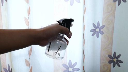 窗帘从来不用机洗,从保洁公司偷学一招,不用拆,几分钟清洗干净