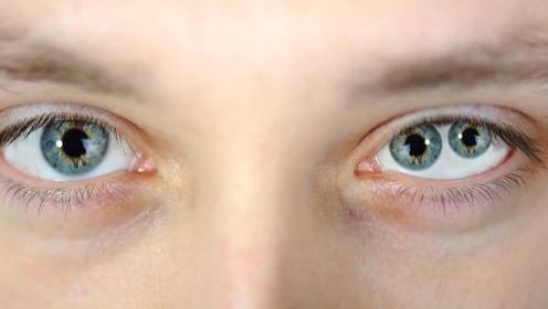 """""""双瞳""""是帝王之相吗?眼中世界非常神奇,一般人看不见"""