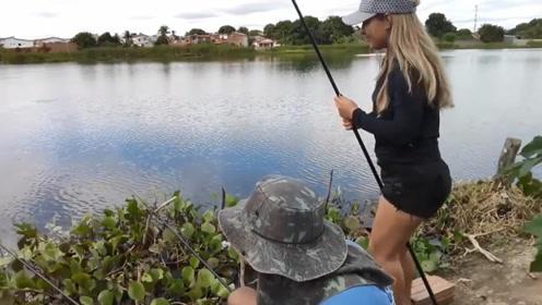 在气温适宜的秋季钓鱼,鱼口还不错