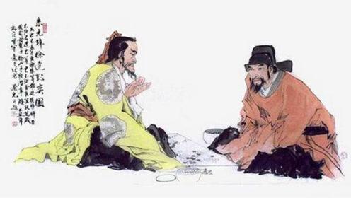 徐达同朱元璋下棋,胜负难分时棋盘上出现两字,让朱元璋喜忧参半