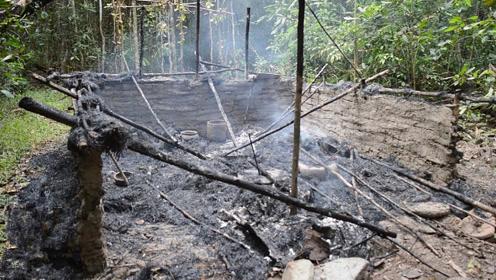 野外生存达人改善居住环境,徒手在丛林建造小屋?这技术不输德爷