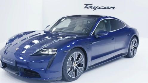 保时捷首款电动轿跑Taycan,全新的内饰设计,让你耳目一新