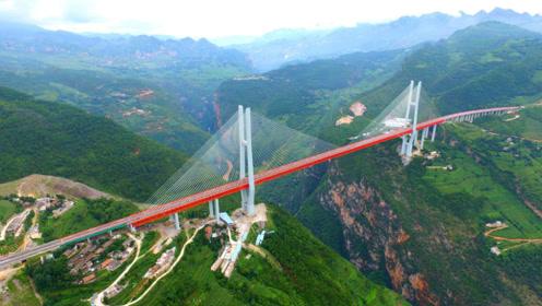 厉害我的国!建世界最高桥梁,全长1341.4米相当2百层楼高