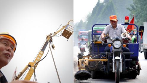 农民教科书级改装二手车,能灭火能铲雪,得知用途后更值得膜拜