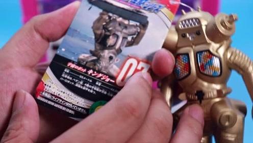 第301期 奥特曼500系列软胶玩具 强大的机器人金古桥