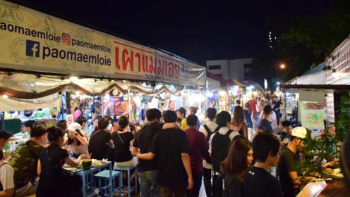 """泰国最""""严格""""夜市摊:要签7份保证书,不接受中国商家入驻!"""