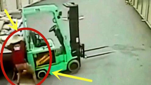 男子指挥装货惨遭意外,不是监控谁会相信这一切!