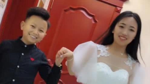 0.7米男子找对象,竟成功迎娶漂亮大姑娘,邻居都看傻眼了!