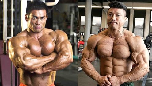 亚洲健美的标杆人物!日韩健美界最极限的肉体,这两人谁更强?