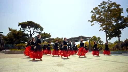 中国舞《楼兰少女》,异域风情,摇摆至上