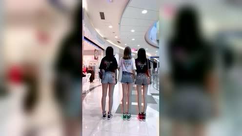 美女街舞:闺蜜三人舞,哪个小姐姐跳的好?