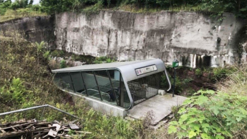 中国有个最偏僻地铁站!出站就是荒山野岭,这是怎么回事?