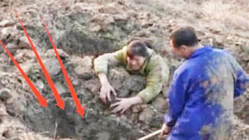 两口子扫墓时,竟听见地下传来古怪哭声,警察调查后发现真相!