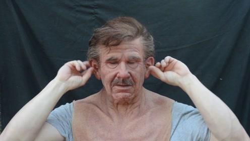 日本发明人皮面具,皮肤精确到99%,网友:细思极恐!