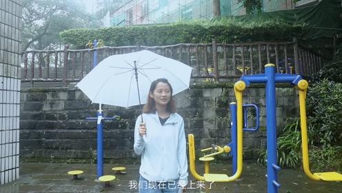 下雨天人真的很少,坐索道上去后可以玩得东西还挺多的。