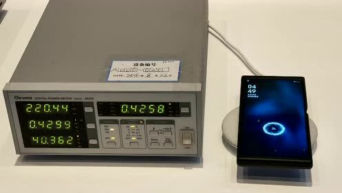OPPO 30W无线快充演示