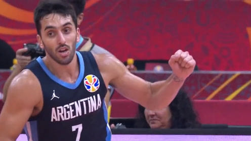 篮球世界杯坎帕佐十佳球 后撤三分穿裆秒传展现NBA级别实力