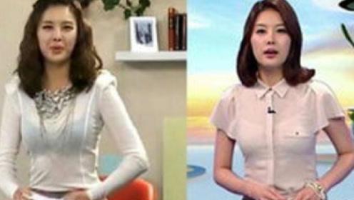 韩国女主持拼了,为提高节目收视率,直接穿这种衣服出镜!