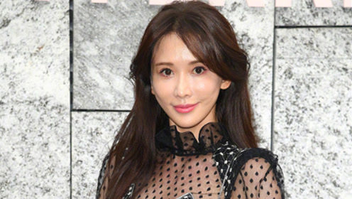 林志玲缺席中秋晚会被传怀孕 米兰观秀穿透视裙玩性感巧遮腹部