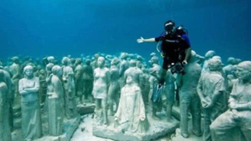 """墨西哥湾惊现""""海族遗址"""",水下生活数千人,被当地人秘密保护"""