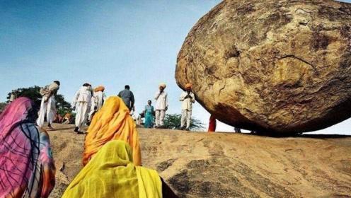 神秘的印度石头,说出咒语就会上升,感觉特别的神奇
