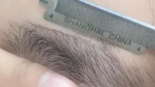 这样修出来的眉毛,真的是不用画都能出门!