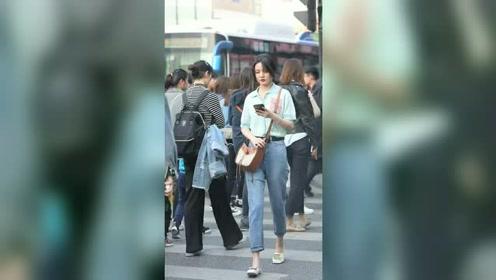 街拍时尚穿搭