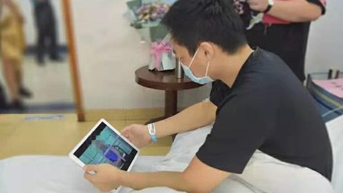 卢警官加油!厦门民警罹患白血病 他抓捕的逃犯主动提出捐献骨髓