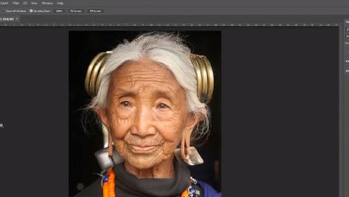 96岁老奶奶,被牛人用PS复原成18岁模样,网友:戳中泪点