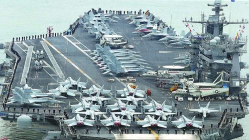 美军曾用8万吨航母当靶子打:导弹鱼雷连炸25天依然坚挺