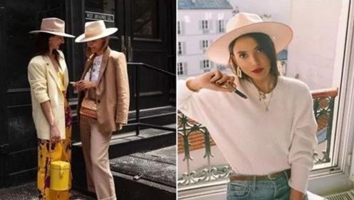 秋冬只知贝蕾帽?绅士帽的3种搭配,让你营造出帅气女孩印象