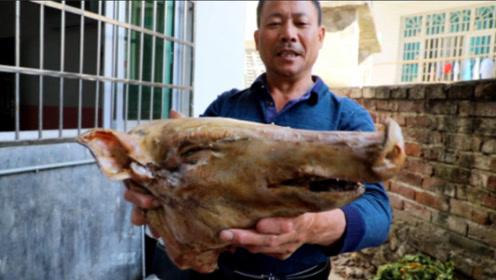 大叔分享农村人猪肉保鲜技巧 比城里人的方法好用百倍!