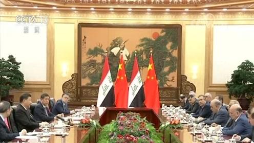 习近平会见伊拉克总理