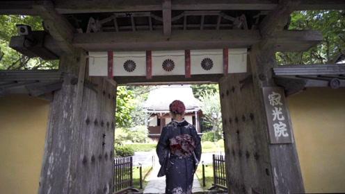 日本京都有两个绝美的寺庙竟然没有游人