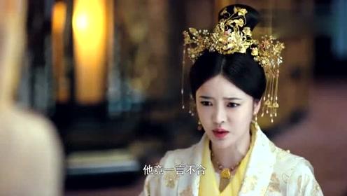 白发王妃:太子私下违抗圣旨,还动手打了太子妃