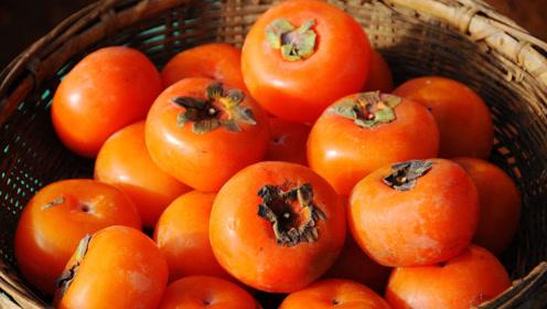 吃这两种水果需注意,柿子应剥皮吃,山楂不宜食用过多