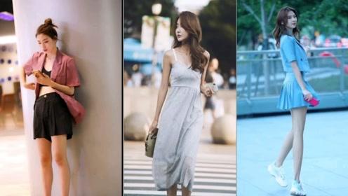 街拍:每天应该怎么穿,平常就要多思考,打扮时尚了才好看