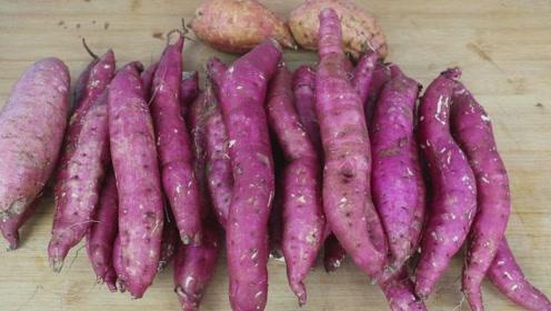 红薯我家从来不蒸不煮,简单2步,3分钟搞定,一次5斤不够吃!