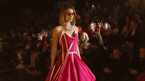 人气超模Bella Hadid 2020春夏系列T台秀